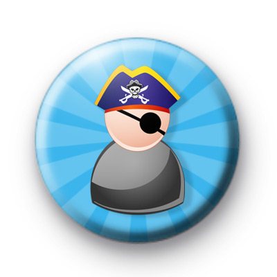 Toy Pirate Pin Badges