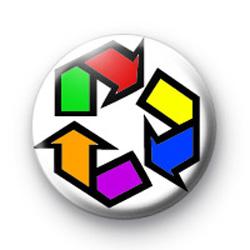 Rainbow Recycle badges