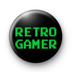 Retro Gamer Button Badges