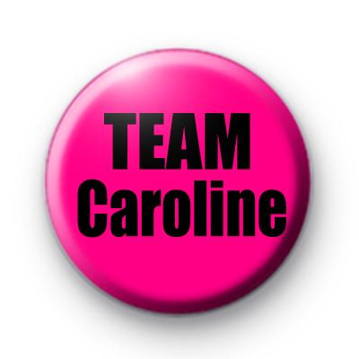 Custom Team Caroline Pin Badge