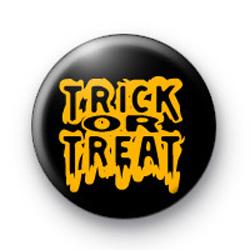 Trick or Treat Orange badges