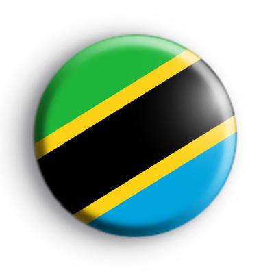Tanzania Flag Badge