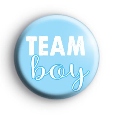 Blue Team Boy Badges
