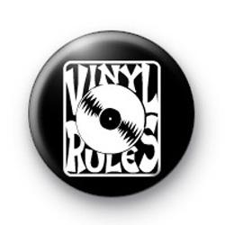 Vinyl Rules badges