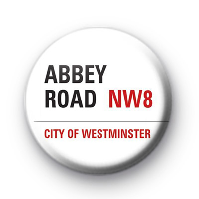 Abbey Road Button Badges