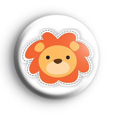 Lion King Big Cat Button Badge