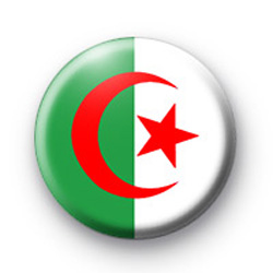 Algeria Algerian Flag Badges