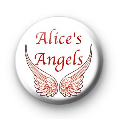 Alices Angels custom name badges