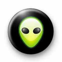 Alien Green badges