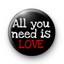 All you need is LOVE badges