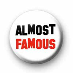 Almost Famous badges