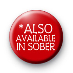 Also available in SOBER badge