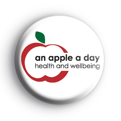 An Apple A Day Wellbeing Badge