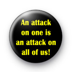 An attack on one watchmen badge