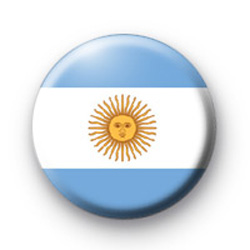 Argentina Flag Badges