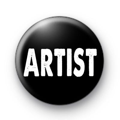 Artist Black and White badges