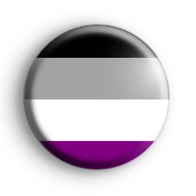 Asexual Pride Flag Badge