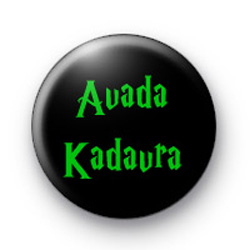 Avada Kadavra Harry Potter Curse Badge