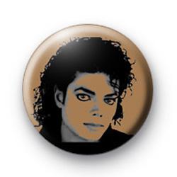Michael Jackson Badge 1