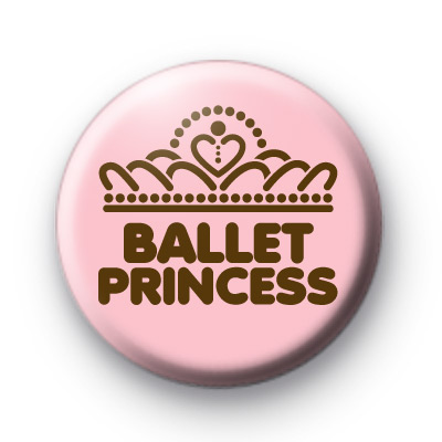 Ballet Princess Crown Badges