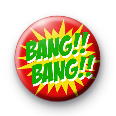 Bang Bang Comic Book Badges