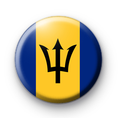 Barbados Flag Pin Badge