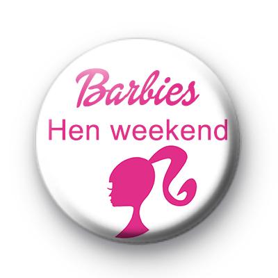 Barbies Hen Weekend Badges