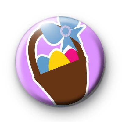 Basket of Easter Eggs Badge