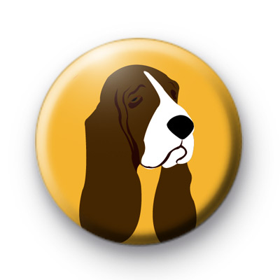 Basset Hound Dog Badge