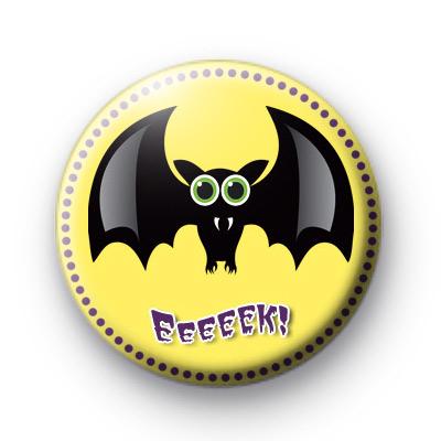 Eeeeek Bat Spooky Badge
