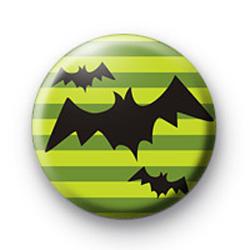 Flying Bats Button Badges
