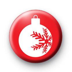 Christmas Decoration Badge