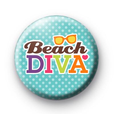 Blue Beach Diva Badges