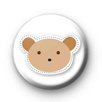 Cute Bear Hug Button Badges