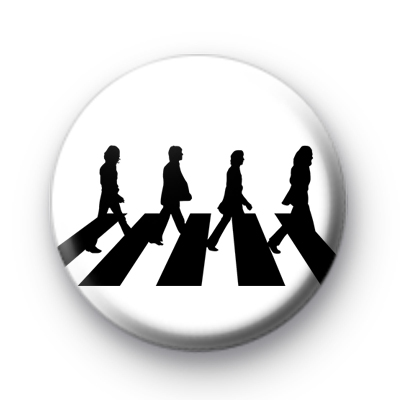 Abbey Road Beatles Badge