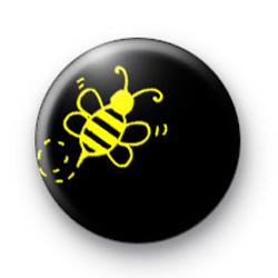 Custom Bee Badge 4