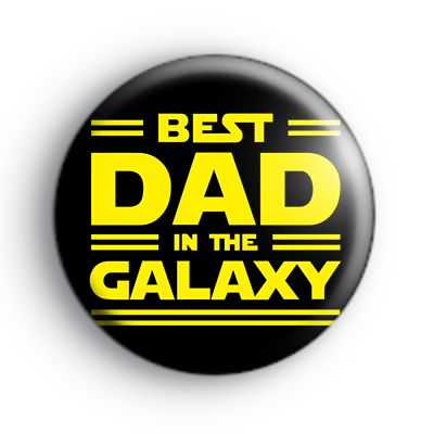 Best Dad in the Galaxy Badge