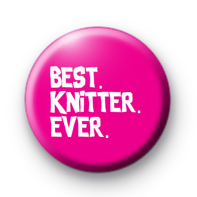Best Knitter Ever Badge