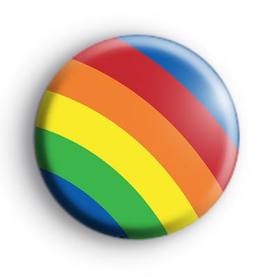 Big Bright Rainbow Badge