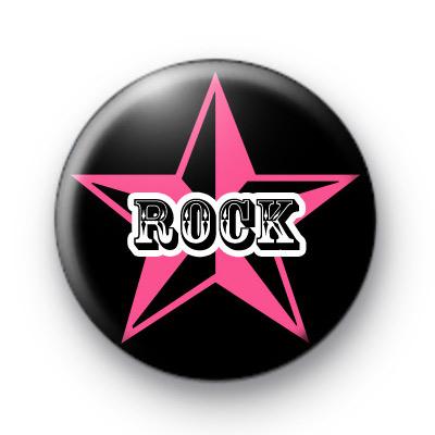 Big Rock Star Button Badges