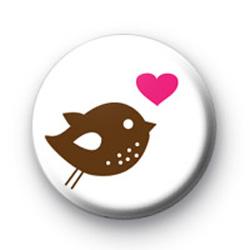 Bird of Love Badge