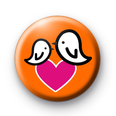 Birdy Love Button Badges