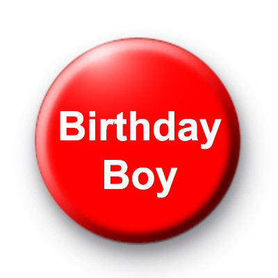 Birthday Boy Custom badge