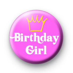 Birthday Girl badges