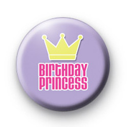 Birthday Princess Badge