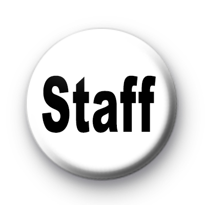 Black and White staff badges