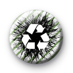 Black Recycle Logo Badges