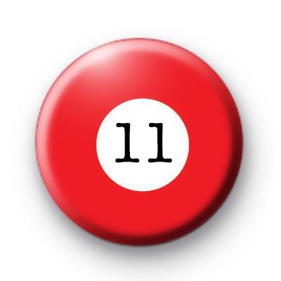 Billiard Ball Age 11 badge