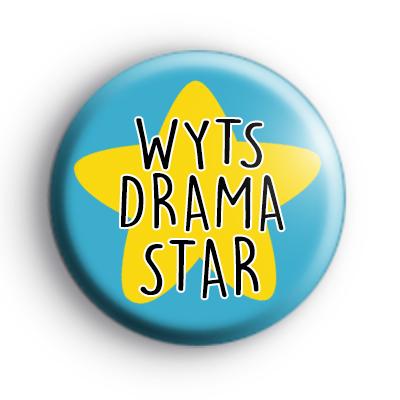 Blue WYTS Drama Star Badge