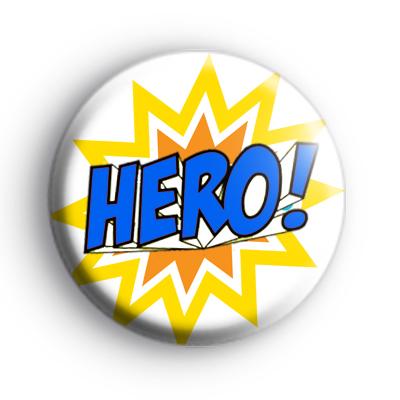 Yellow and Blue HERO Badge